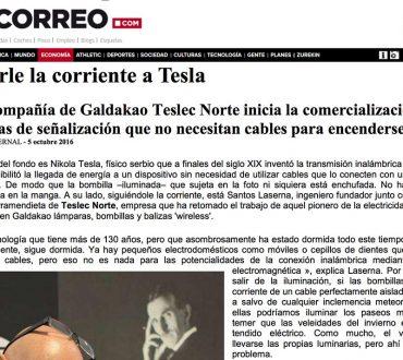 Seguirle la corriente a Tesla